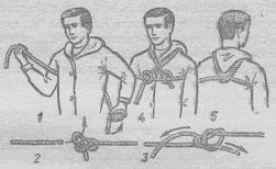 Как сделать обвязку из верёвки 227